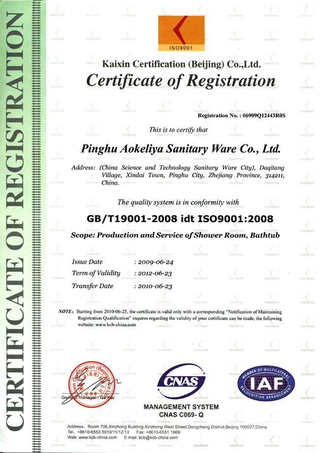 ISO9001 EN