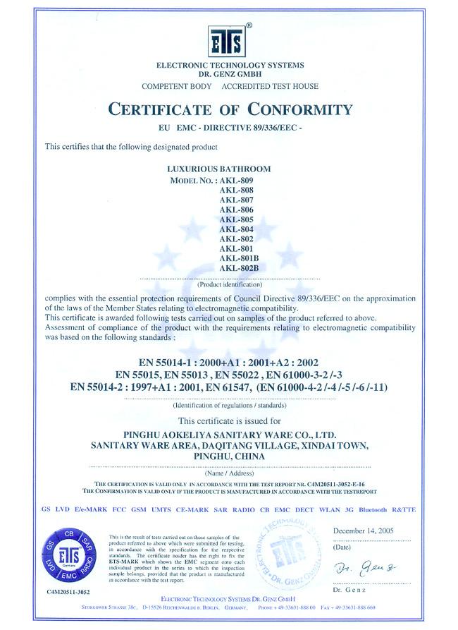 CE2005AKLSHOWERROOM